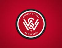 Western Sydney Wanderers FC Branding