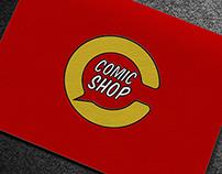 COMICSHOP.RO - brand identity