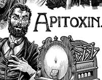 """Apitoxin"" frontispiece & spot illos"