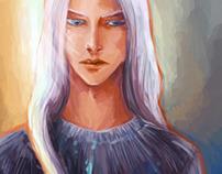 Neleus, character design