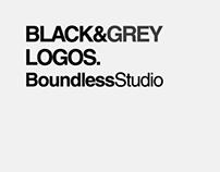 Black & Grey Logos