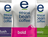 Ethical Bean Coffee Packaging Rebrand