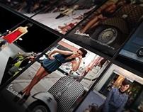 Designer Inspired Vespa Campaign