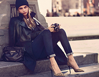 DKNY JEANS FALL 14 CAMPAIGN