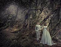 Enya Mereine Wedding Gallery (webpage design)