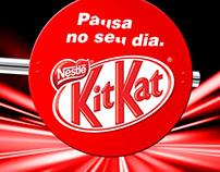 Kit Kat na Fórmula Indy