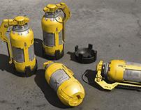 sci-fi flash grenade