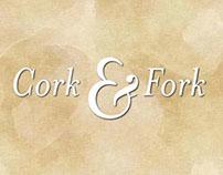 Cork & Fork: Android App (mock-up)