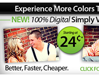 Simply Color Lab Ad Banners