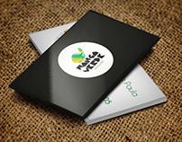 Manga Verde Logo e Cartão