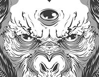 Three Eyed Chimp - Illustration 2013