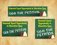 Web Banners for Governor Bobby Jindal