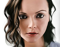 Christina Ricci - Digital Painting