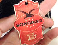 Packaging: BioShock Infinite Songbird Plushie Hangtag
