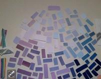 Paint Swatch Mosaic