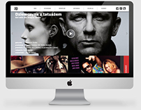 Cinema web design (kino ARS)