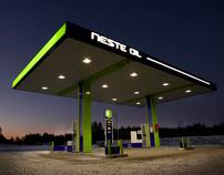 Neste Oil - Service stations