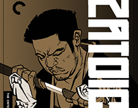Zatoichi boxed set for Criterion
