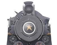 Train - digital painting