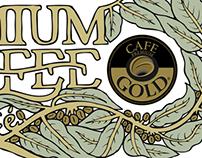 Mug Café Gold