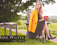 Ron White Shoes Fall 2013 Ad Campaign