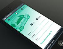 Aplicativo iOS - Site AZCARROS.com.br