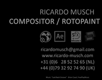 Compositing and Roto Reel Spring 2013