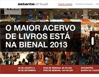 Hotsite Estante na Bienal