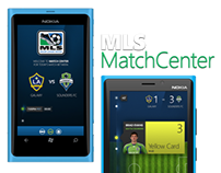 Major League Soccer / Windows Phone Pitch