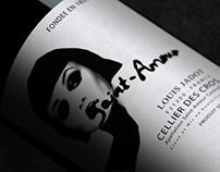 "Labels for wine ""Saint-Amour"""