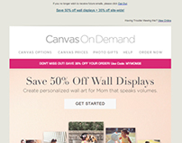 Canvas On Demand Mother's Day Promo Template