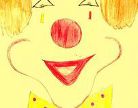 remember answer the clown smile with smile