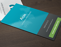 ACPA design (Web — Branding — Card)
