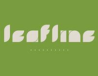 Leafline Typeface