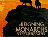 Reigning Monarchs Poster