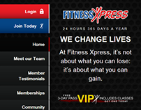 Fitness Xpress Website