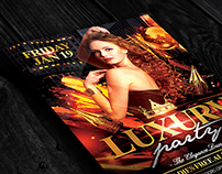Luxury Party | Flyer + Facebook Cover