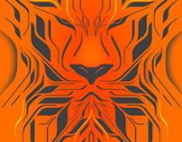 LEO - Zodiac Series Poster Design