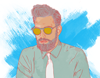 Hipster Vibe - Illustration