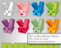 Bunny Box Mascot Head