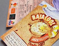 Print Design - Baiacool Jazz Festival