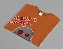 T-Shirt Design - Eletro Rock