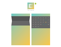 Flip Calendar for Android