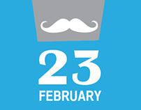 "Poster ""23 FEBRUARY"""