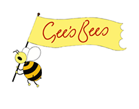 Gee's Bees Logo Design and Illustrations