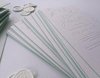 Papelería de boda: Invitaciones y decoración A&I