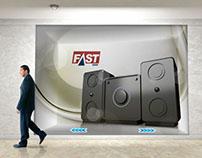 Conceito de vitrine interativa para Fastshop