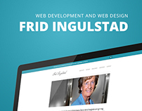 Frid Ingulstad - Web development and design