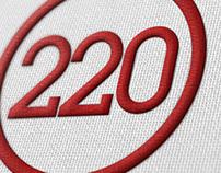 220 Bar Logo Concepts