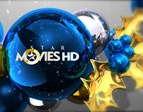 Christmas Motion Graphics for Star Movies 2012